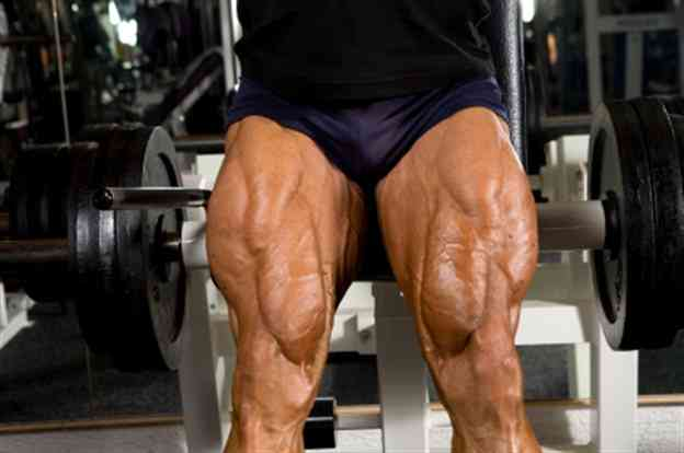 how to build up thigh muscles at home